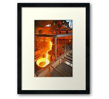 Metal Liquid Framed Print