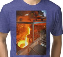 Metal Liquid Tri-blend T-Shirt