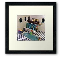The Spa of Niflheim Framed Print