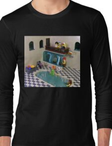 The Spa of Niflheim Long Sleeve T-Shirt