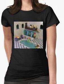 The Spa of Niflheim Womens Fitted T-Shirt
