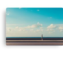 Take a walk on the Malecón Canvas Print