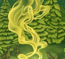 Christmas Card: Irish Elk Spirit Sticker