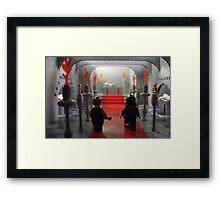 Heri Rex Framed Print