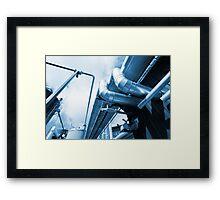 Factory Metal Framed Print