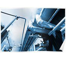 Factory Metal Poster