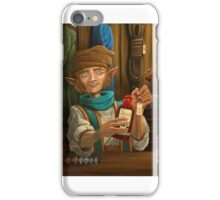 Halfling Magic Item Merchant iPhone Case/Skin