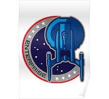 Star Trek - Enterprise Insignia Poster
