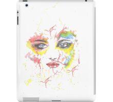 face of colors iPad Case/Skin