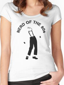 Nerd Of The 80S Women's Fitted Scoop T-Shirt