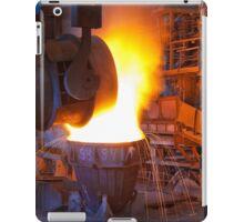 Metal Fire iPad Case/Skin