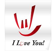 I Love You - ILY Poster