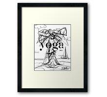 Yoga Borneo Framed Print