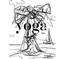 Yoga Borneo Photographic Print
