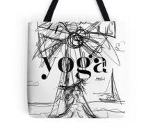 Yoga Borneo Tote Bag
