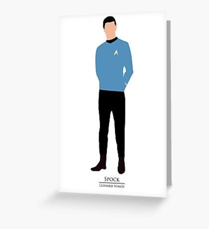 Star Trek - Minimalist Spock Greeting Card