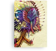 Elephantomas Passiflora Canvas Print