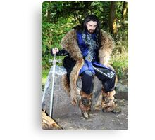 I Will Be King Canvas Print
