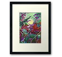 Cistern Paths Framed Print