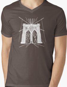No Sleep Till Brooklyn Mens V-Neck T-Shirt