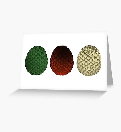 Dragon Eggs Greeting Card