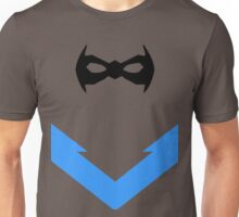 Nightwing mask and emblem Unisex T-Shirt