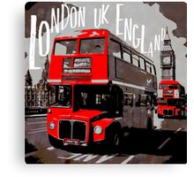 City-Art LONDON Westminster Canvas Print