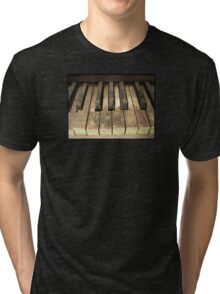A Melody Left Abandoned Tri-blend T-Shirt