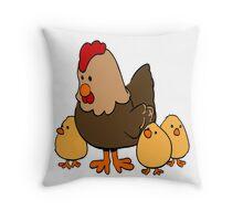 hen Throw Pillow