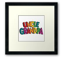 uncle grandpa Framed Print