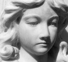 Angel in Mourning Sticker