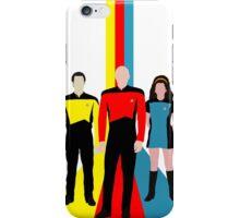 Star Trek - Tricolour Starfleet (TNG) iPhone Case/Skin