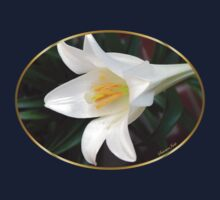 The Easter Lily ~ a Biblical Flower Kids Tee
