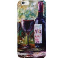 """""""Aged Wine"""" Oil painting by Lena Owens/OLena Art iPhone Case/Skin"""