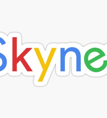 Terminator Skynet (Google) New Logo Sticker