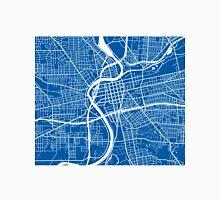 Dayton Map - Deep Blue Unisex T-Shirt