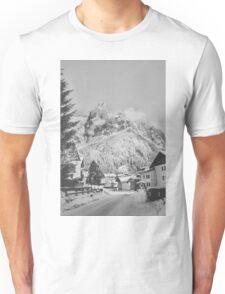 Snowy mountains, San Martino di Castrozza Unisex T-Shirt