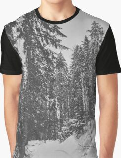 Snowy trees, italy Graphic T-Shirt