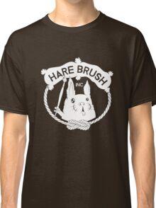 Hare Brush Logo - White Classic T-Shirt