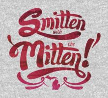 typo smitten with the mitten One Piece - Short Sleeve