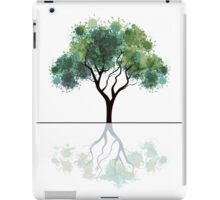 Abstract tree iPad Case/Skin