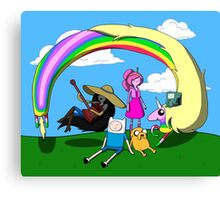Adventure Time Togetherness  Canvas Print