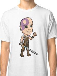 Baldur's Gate - Minsc the Ranger with Boo the Hamster Classic T-Shirt