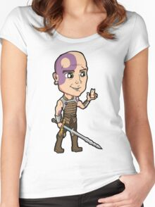 Baldur's Gate - Minsc the Ranger with Boo the Hamster Women's Fitted Scoop T-Shirt