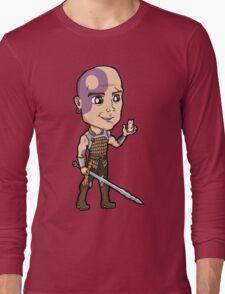 Baldur's Gate - Minsc the Ranger with Boo the Hamster Long Sleeve T-Shirt
