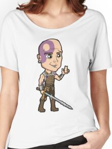 Baldur's Gate - Minsc the Ranger with Boo the Hamster Women's Relaxed Fit T-Shirt