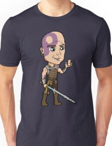 Baldur's Gate - Minsc the Ranger with Boo the Hamster Unisex T-Shirt