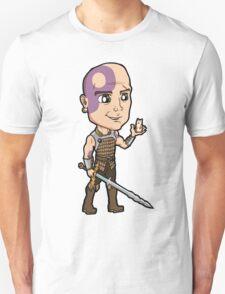 Baldur's Gate - Minsc the Ranger with Boo the Hamster Unisex T-Shirt