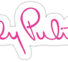 Lilly Pulitzer Logo Sticker