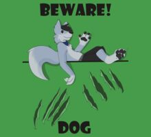 Beware dog claws and paws Baby Tee